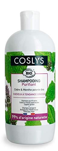 Coslys Shampoo Gras mit Pfefferminze, Bio