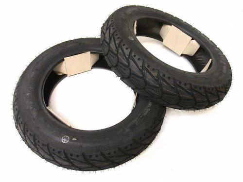 Allwetter Roller Reifen Satz KENDA 90/90-10 K415 4PR 50J TL M+S für Roller/Scooter/Motorroller
