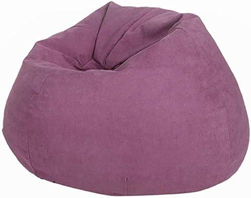 BYLRSF Sofa Sack - Ultra Weißher Sitzsackstuhl, Stapelstuhl Memory Foam Adult, Sitzsack Für Kinder, Mehrfarbig Optional (Farbe   D)