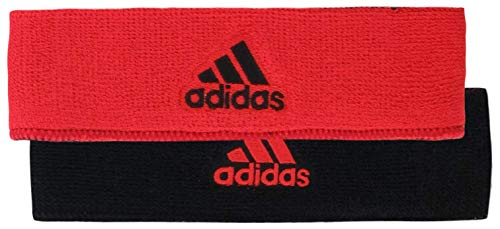 adidas Intervall Reversible Haarband, Unisex, Hi-Res Red/Black