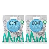 2 x 125 Denttabs fluoridfrei - Versandkostenfrei! - VEGAN ohne Fluorid Zahnreinigung