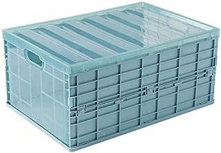 MU Grande boîte de rangement pliable, boîtes de rangement avec couvercles, cube de tiroir en plastique, bacs de rangement ...