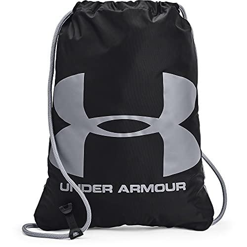Under Armour Ozsee, Mochila Unisex Adulto, Black/Black/Steel (005), One Size