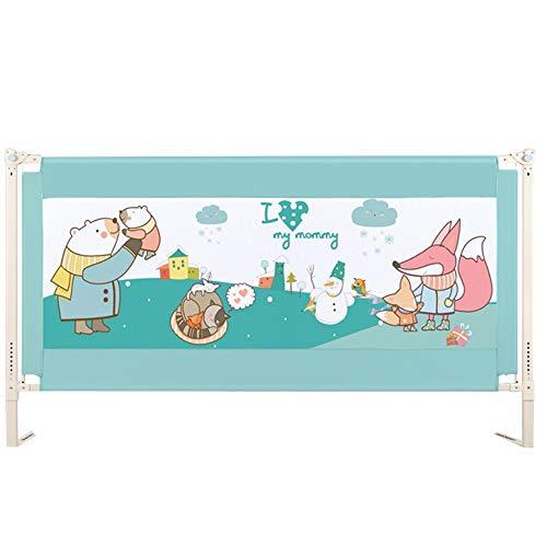 Barrière de sécurité pour lit d'enfant Bed Guard Safety First First 59/70 / 78in * 33-39in (Longueur * Largeur) (Size : 200CM)