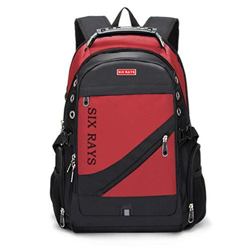 No/Brand Men's Travel Bag Man Swiss Backpack Polyester Bags Waterproof Anti Theft Backpack Laptop Backpacks Men