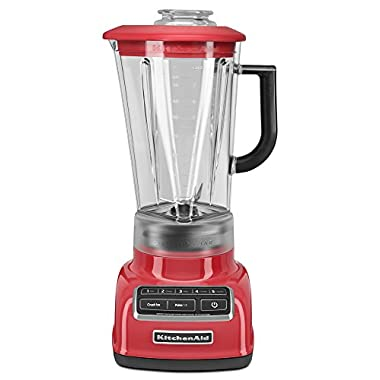 KitchenAid KSB1575WM 5-Speed Diamond Blender with 60-Ounce BPA-Free Pitcher - Watermelon
