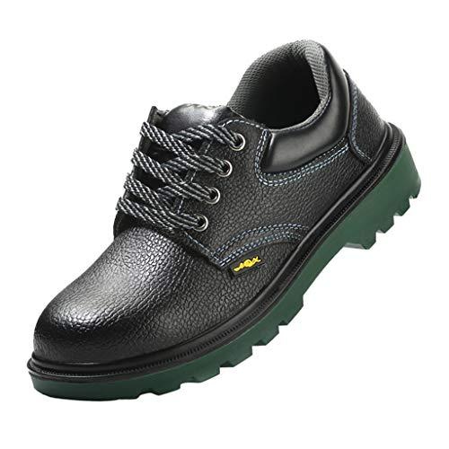 Sharplace Hommes Anti-dérapant Anti-crevaison Orteil Sécurité Travail Chaussures Bottes Randonnée - comme Exposition d'image, UE 45 États-Unis 11.5 Royaume-Uni 10.5