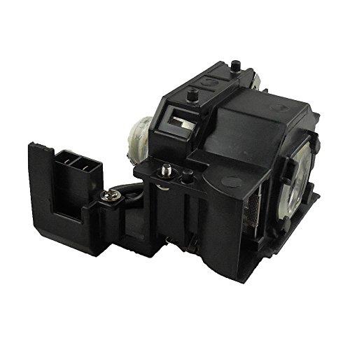 Supermait EP36 Lámpara Bulbo Bombilla de Repuesto para proyector con Carcasa Compatible con Elplp36 Compatible con EMP-S4 / EMP-S42 / PowerLite S4 / EMP S4 / EMP S42 / EMPS4 / EMPS42