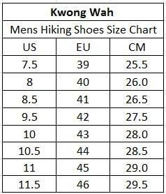 Kwong Wah Mens Waterproof Hiking Shoes Boots