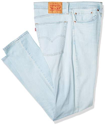 Levi's 510 Skinny Fit Jeans para Hombre, Color Fungus Super Light Cool, 36X32