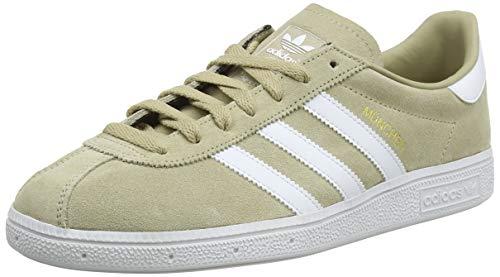 Adidas Munchen, Zapatillas de Deporte Hombre, Amarillo (Oronat/Ftwbla/Dormet 000), 42 2/3 EU