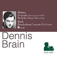 ブリテン:セレナード、バークレイ:ホルン・トリオ、他 ブレイン(ホルン)パリキアン(ヴァイオリン)、グーセンス指揮、他