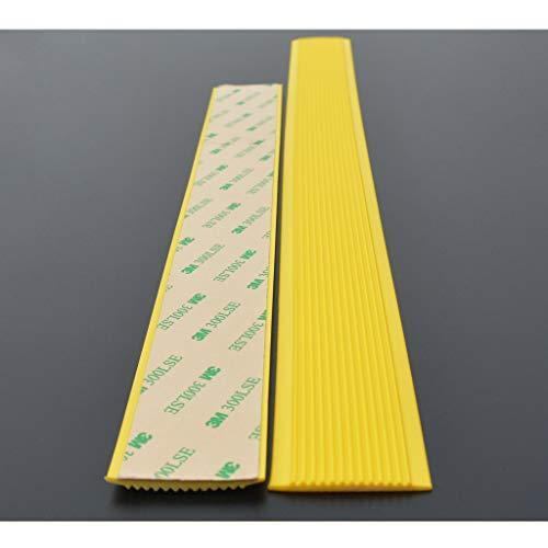 Treppenkante Selbstklebendes Treppenkanten-Profil Treppenprofil Treppenkantenprofil PVC-Kindergartentreppe Rutschfeste Leiste Holz Selbstklebende Fußbodentreppen Gummi Andruckkante Abschlussleisten