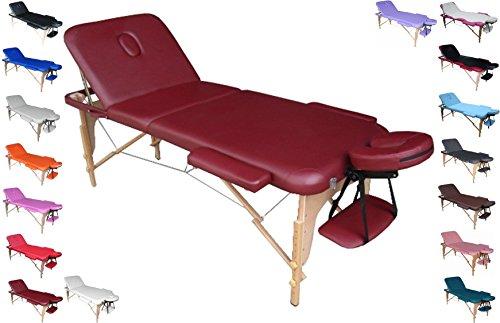 Preisvergleich Produktbild polironeshop Profi-Liege tragbar und faltbar für Massagen,  Physiotherapie,  Haarentfernung,  Maniküre und Pediküre
