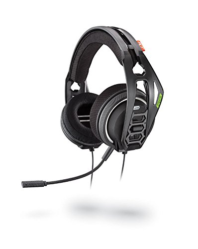 Plantronics Rig 400HX, Gaming Headset für Xbox One, Schwarz