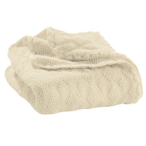 Disana Couverture pour bébé en laine mérinos 80 x 100 cm