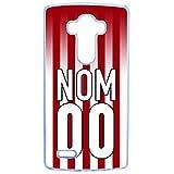 Générique Coque personnalise ta Coque avec Ton nom + Ton Numero Equipe Nancy Compatible LG g4...