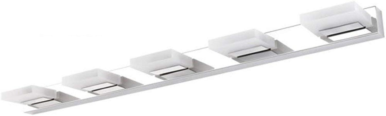 Mirror Lamps Home Spiegelfrontleuchte - Acryl LED Edelstahl Bad Eitelkeitslampe Wasserdichte Spiegelleuchte (Farbe   Medium)