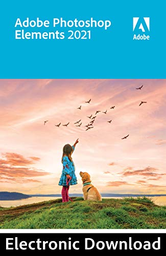 Adobe Photoshop Elements 2021 | 1 User | PC | PC Activation Code by email