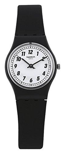 Reloj de Mujer Swatch Originals Something Negro analógico Cuarzo LB184