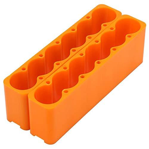 Juego de 2 pinzas de fijación de plástico industrial 18650 ajustables, para soldar la batería, accesorios de soldadura