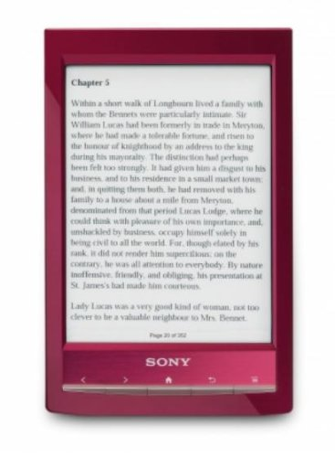 Sony PRST1RC - Lector de ebooks