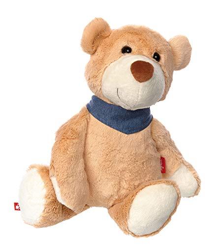 sigikid, Mädchen und Jungen, Stofftier Bär groß, Flobo Flunderberg, Sweety, Beige, 42258