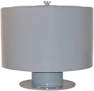 4-1//2 Diameter 1 MPT Outlet Solberg FT-19P-100 Inlet Compressor Exposed Filter Made in the USA 1 MPT Outlet 6-5//8 Height 4-1//2 Diameter Solberg Manufacturing 55 SCFM 6-5//8 Height