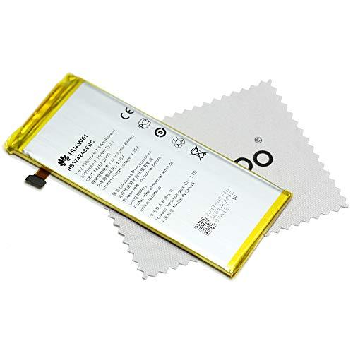 Batteria originale HUAWEI HB3742A0EBC LiIon Huawei Ascend G6P6P7mini + GRATIS mungoo Panno...