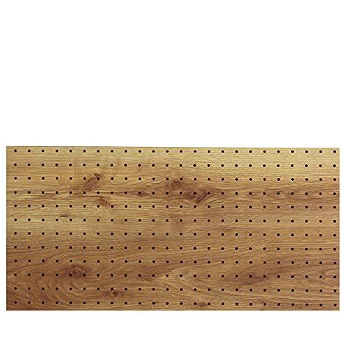 光(Hikari) ヴィンテージボード パンチングボード 有孔ボード 910x600x5.5mm 古木調 穴ピッチ:25mm PGMBD69-2