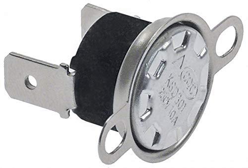 Bartscher Anlegethermostat für Kaffeemaschine A190141, A190161 1-polig 1NC 83°C Anschluss Flachstecker 6,3mm vertikal 1-polig