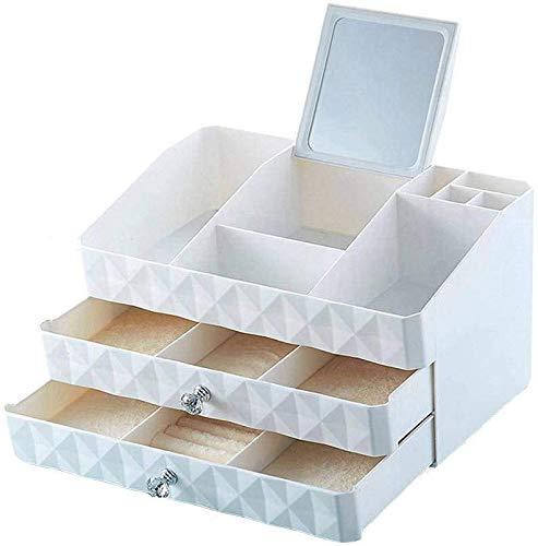Make-up Organizer, cosmetische Desktop Storage doos met grote capaciteit Drawers Jewelry Lippenstift Nagellak vitrine for Dresser-B Mooie en praktische cosmetische opbergdoos. (Color : A)