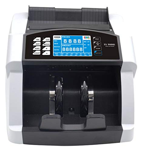KROSS Advanced Currency/Note Counting Machine with Fake Note Detection for All Notes -IS9000I