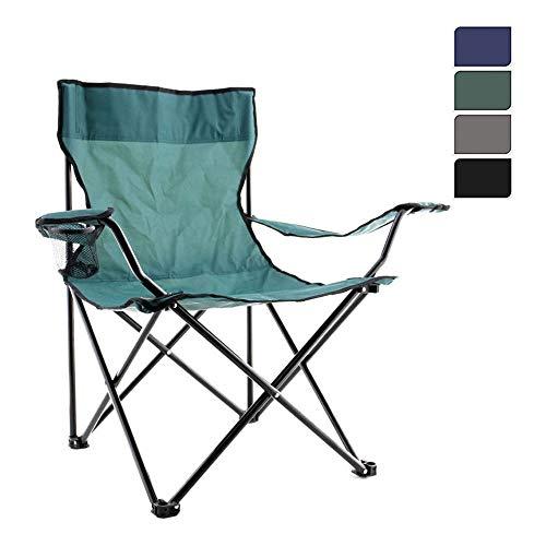 Inklapbare campingstoel.