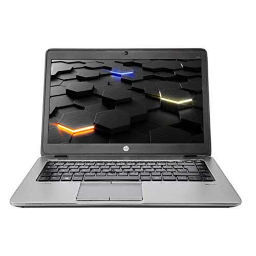 HP EliteBook 840 G1 Intel Core i5 1.60 GHz CPU, 16 GB RAM, 14 Zoll 1920x1080 IPS, 500 GB HDD, Kamera,Win10 Prof. (Zertifiziert und Generalüberholt)
