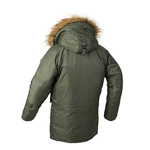 Jianhui Mannen s Herfst Winter Slim Fit Windbreaker Winter Hooded Jacht Nylon Windbreaker Jassen Jassen