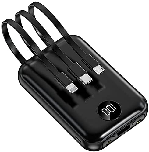 Lasuki Mini Powerbank 13800 mAh batería externa compacta ligera portátil Ultra High Capacity External Battery Cargador para teléfono móvil