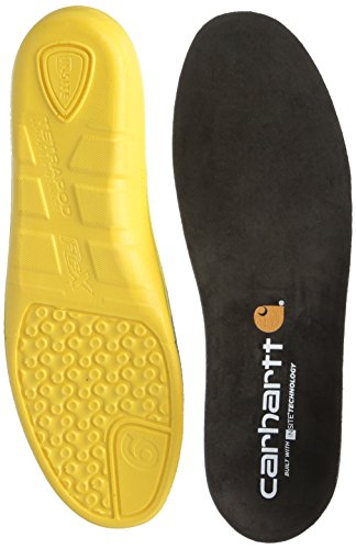 Carhartt Men's Insite Technology Footbed CMI9000 Insole, black, 11 M US