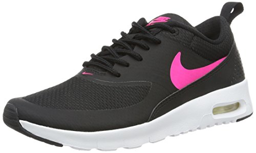 Nike Jungen und Mädchen Air Max Thea GS 814444-001 Low-Top, Mehrfarbig (Black/Hyper Pink White), 36 EU