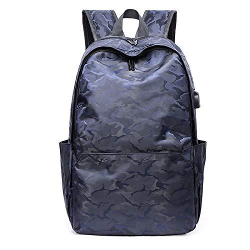 Moderne steden, handsfree formaat van de rugzak buiten, multifunctionele tassen, vrijetijdsrugzak, laptoptas, Rosa Roja (blauw) - 5315201465349