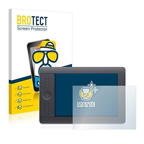 BROTECT Protector Pantalla Anti-Reflejos Compatible con Wacom Intuos Pro M (2013) (2 Unidades) Película Mate Anti-Huellas