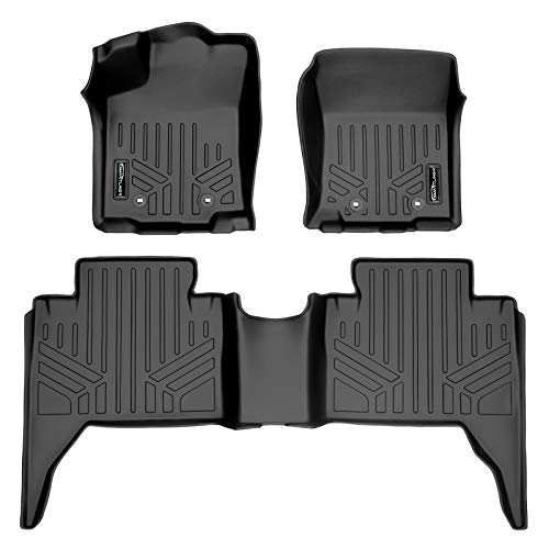 MAXLINER A0354/B0207 for 2018-2021 Toyota Tacoma Double Cab, Black