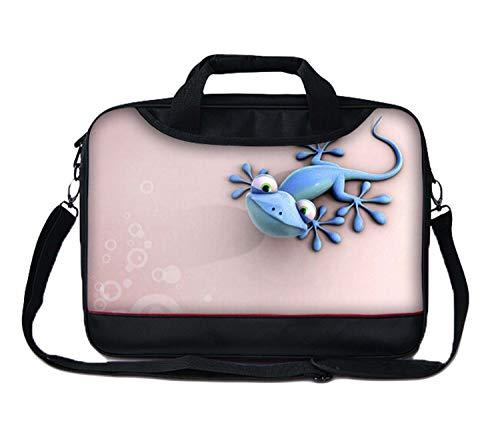 Luxburg® 13 Zoll Messenger Bag Umhängetasche Laptoptasche Notebooktasche mit Tragegurt Tasche für Laptop/Notebook Computer Business Bag