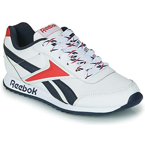 Reebok Royal CLJOG 2, Zapatillas de Running, Blanco/VECNAV/VECRED, 35 EU