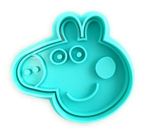 Stampo e taglierina per Biscotti – Cartoni Animati Peppa Pig Turchese