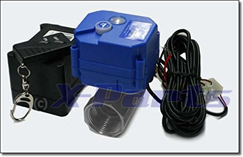 Preisvergleich Produktbild Abwasserventil mit Funk Fernbedienung Camping Westfalia Bus 12V Wassertank