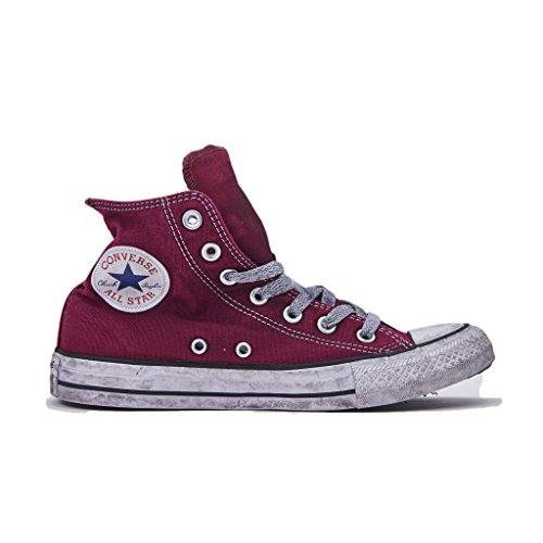 Converse Herren Schuhe Star Ltd Ed Herren Sneaker High Canvas Bordeaux Chuck Taylor Frühling-Sommer 2018