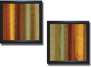 Sponsored Ad - Artistic Home Gallery Color of Nature I & II by Randy Hibberd 2-pc Premium Satin-Black Framed Canvas Set (R...