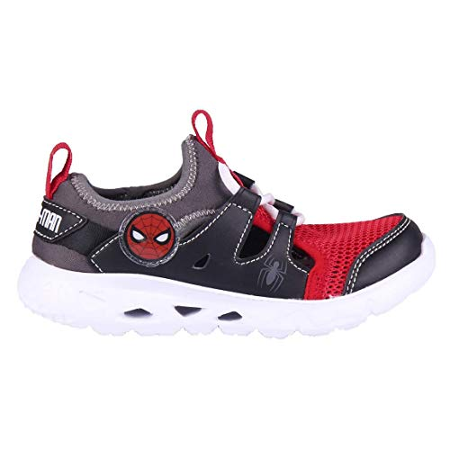 CERDÁ LIFE'S LITTLE MOMENTS Zapatillas Deportivas Transpirables Spiderman Con Licencia Oficial Disney, Chaussure de Piste d'athltisme, Multicolore, 28 EU