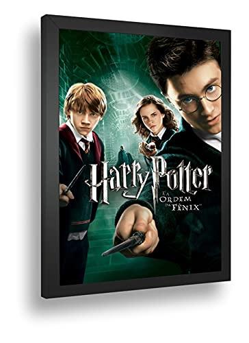 Quadro Decorativo Poste Harry Potter E A Ordem Da Fenix